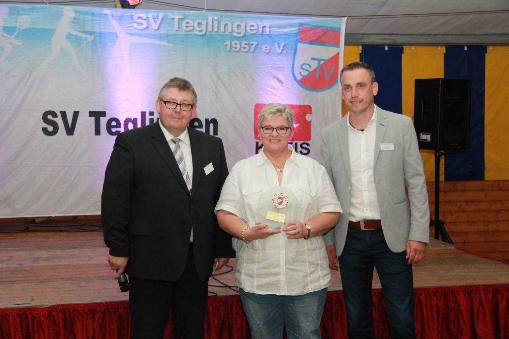 Mannschaft des Jahres 2017 beim SV Teglingen