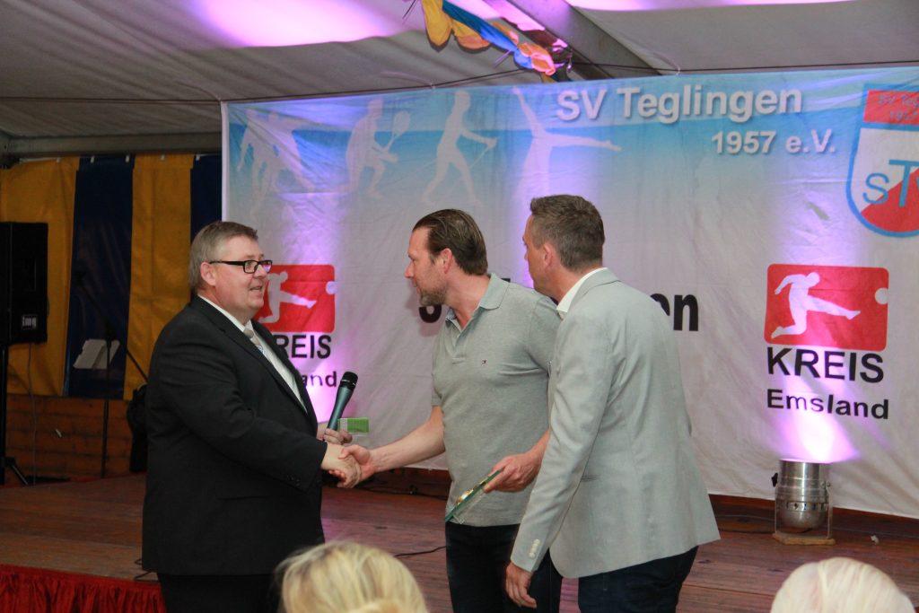 Trainer des Jahres 2017 beim SV Teglingen