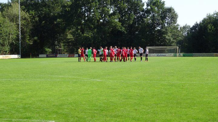 4:1-Testspielsieg gegen Laxtener Bezirksliga-Reserve!