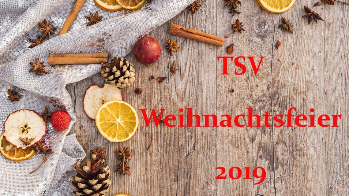 TSV Weihnachtsfeier 2019