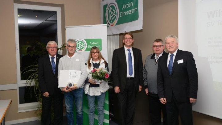 DFB Ehrenamtspreis für Wilfried Hager