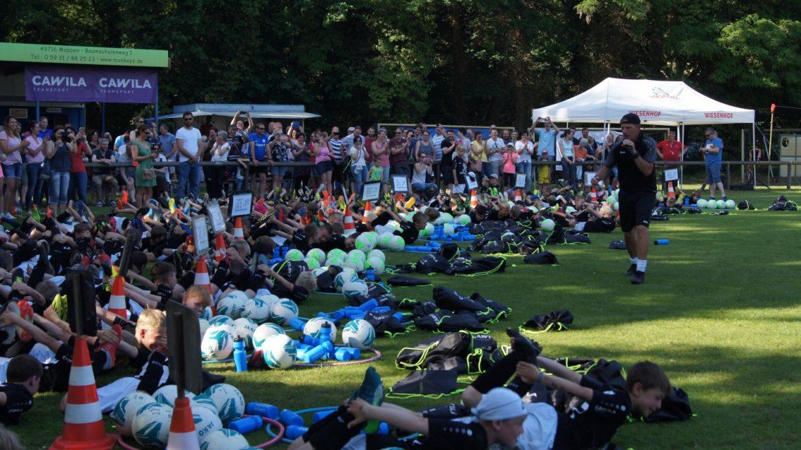 Fußballcamp 2021 verschoben